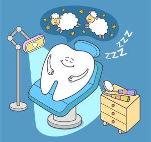 Sleep Dentistry - Tooth Counting Sheep